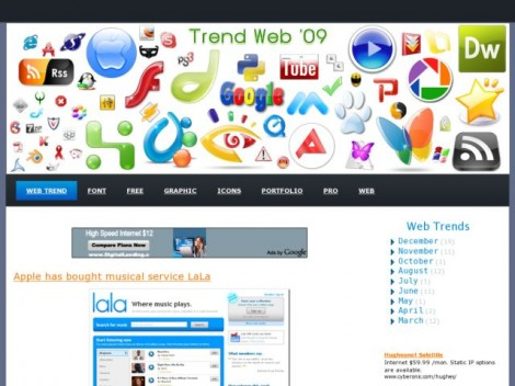 Trend Web