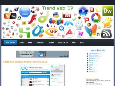 Trend Web